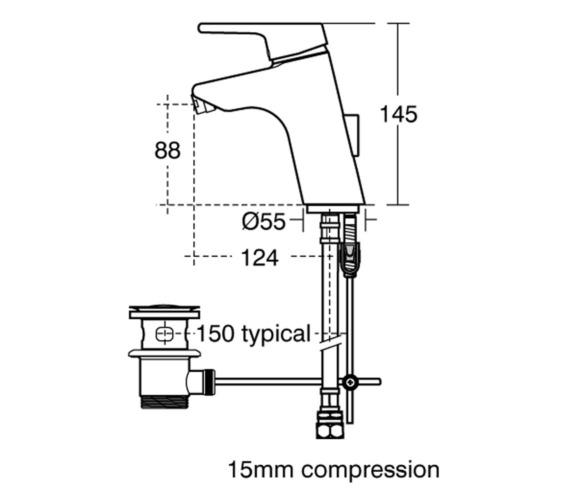 Technical drawing QS-V41032 / B8064AA