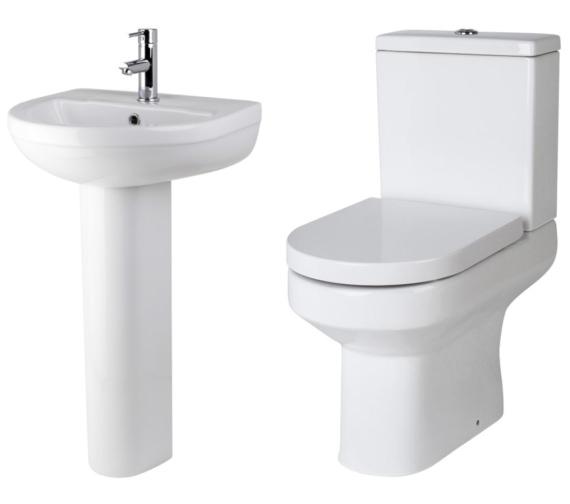 Lauren Harmony Basin And Toilet Set