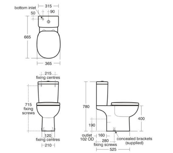 Technical drawing QS-V40428 / E801501