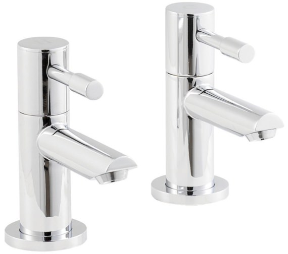 Beo Prise Pair Of Deck Mounted Bath Taps