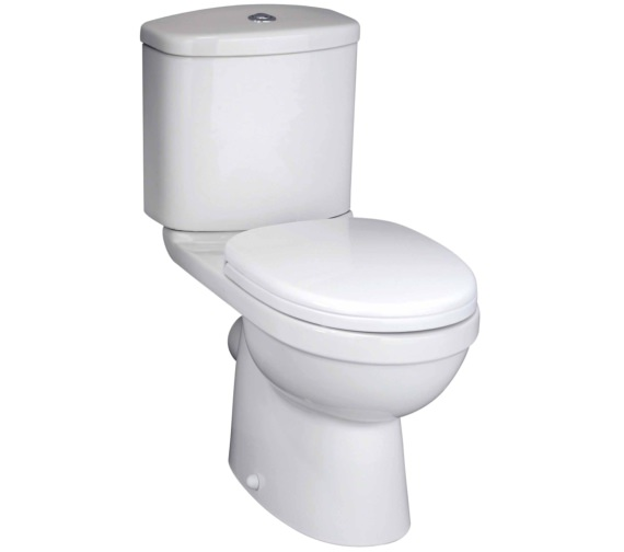 Beo Capital Close Coupled WC Pan With Cistern And Seat 630mm