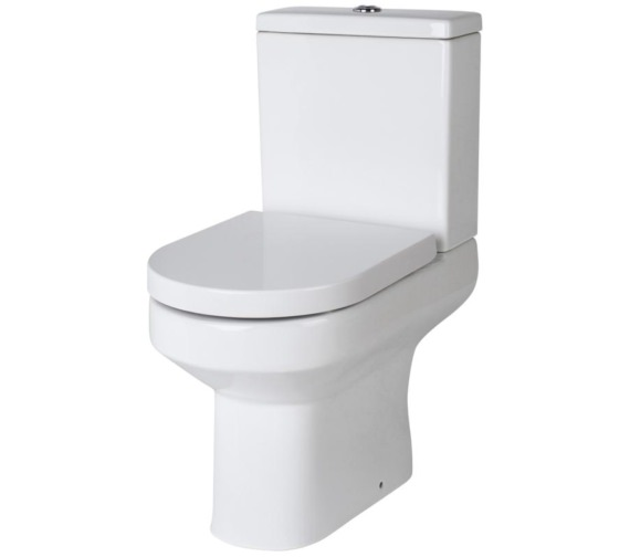 Premier Harmony 635mm Semi Flush To Wall Pan With Cistern And Soft Close Seat