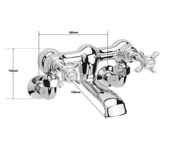 Technical drawing QS-V75761 / CH/304/C