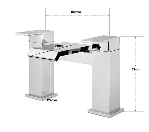 Technical drawing QS-V75765 / DA/104/C