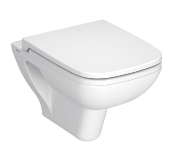 Vitra S20 Wall Hung WC Pan With Soft Close Toilet Seat