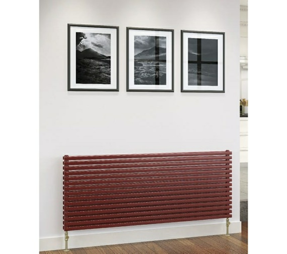 DQ Heating Cube Double Horizontal Designer Radiator 1471 x 600mm