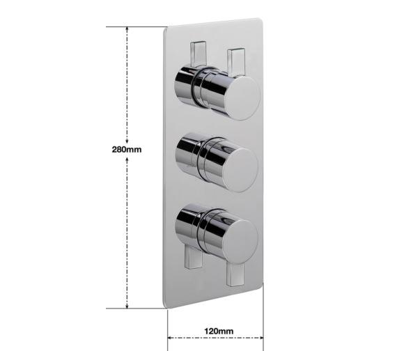 Technical drawing QS-V30416 / EV/277/C
