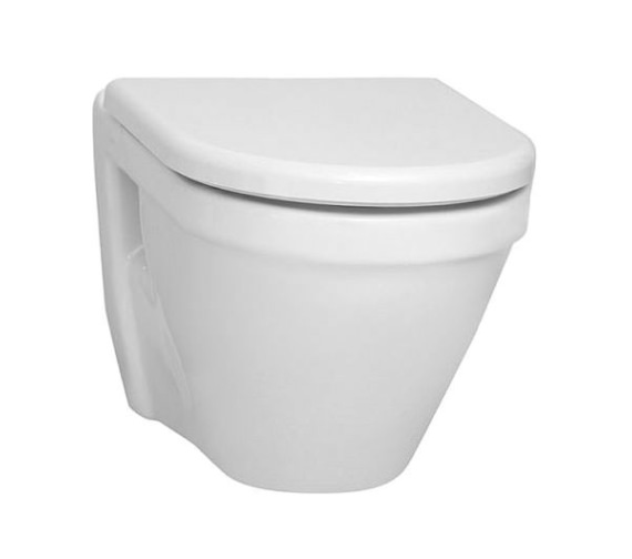 Vitra S50 Wall Hung WC Pan With Soft Close Toilet Seat