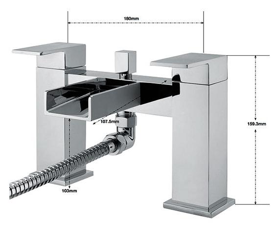 Technical drawing QS-V75818 / NI/105/C