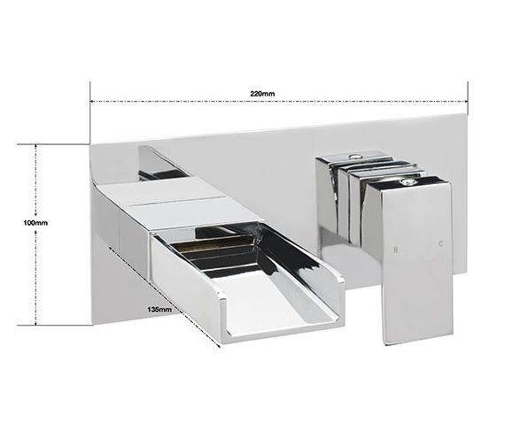 Technical drawing QS-V75825 / NI/207/C