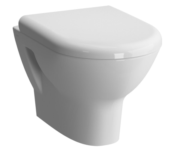 Vitra Zentrum Wall Hung WC Pan With Soft Close Toilet Seat