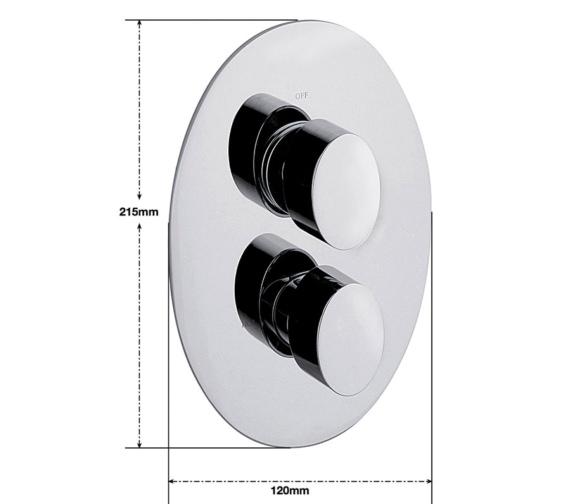 Technical drawing QS-V30293 / OV/172/C