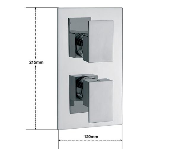 Technical drawing QS-V30225 / BL/172/C