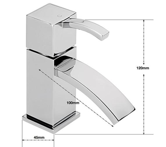 Technical drawing QS-V57600 / AR/101/C
