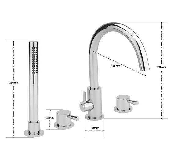 Technical drawing QS-V75736 / BO/114/C