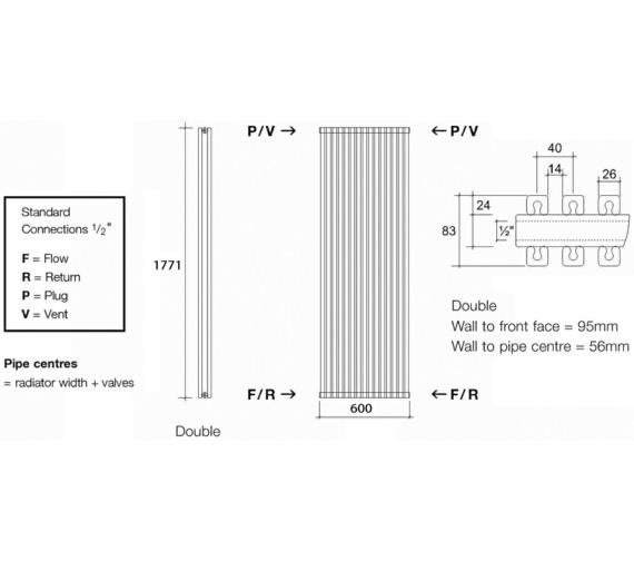 Technical drawing QS-V13595 / CUB2 177/15 V