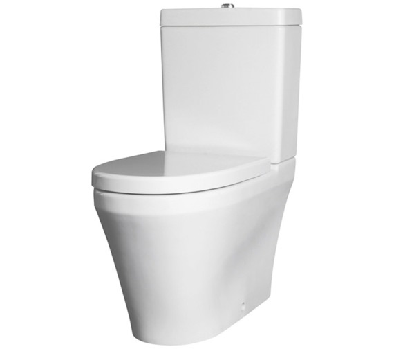 Nuie Premier Marlow Close Coupled Flush To Wall WC Pan With Cistern And Seat