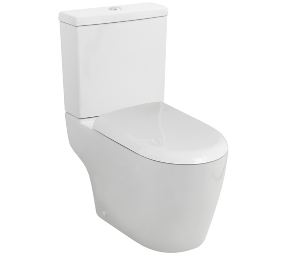 Premier Provost Close Coupled WC With Cistern And Soft Close Seat
