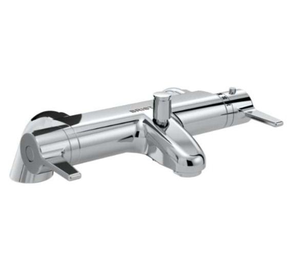 Bristan Design Utility Lever Thermostatic Bath Shower Mixer Tap