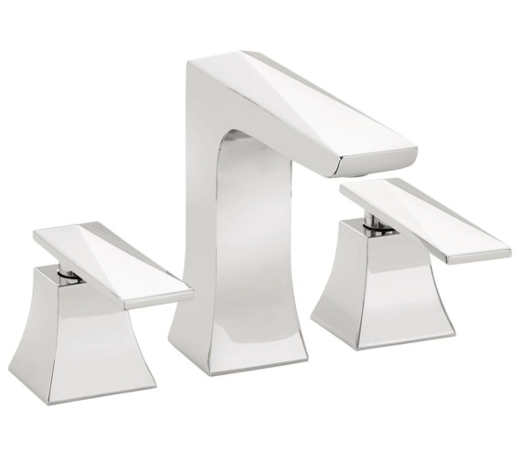 Bristan Ebony 3 Hole Deck Mounted Basin Mixer Tap
