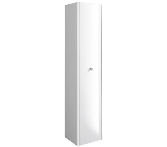 Bauhaus Waldorf 350 x 1600mm White Gloss Tower Unit With Knob
