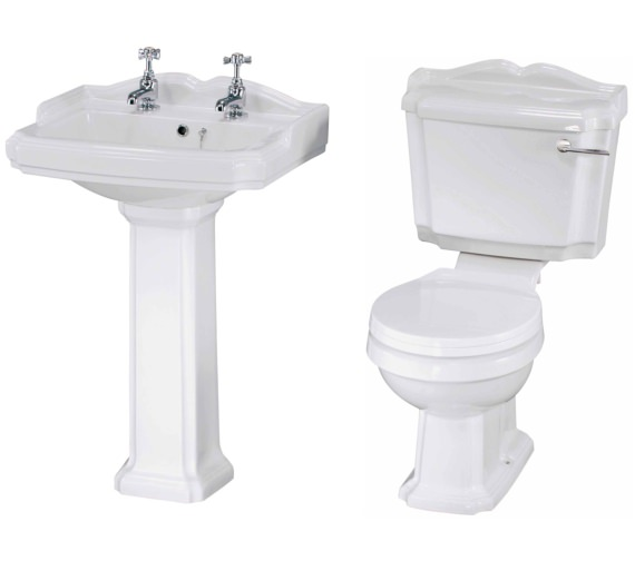 Lauren Legend Basin And Toilet Set