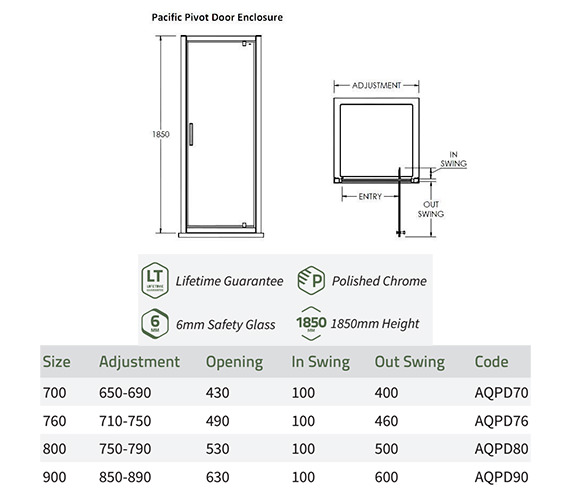 Technical drawing QS-V73391 / AQPD70