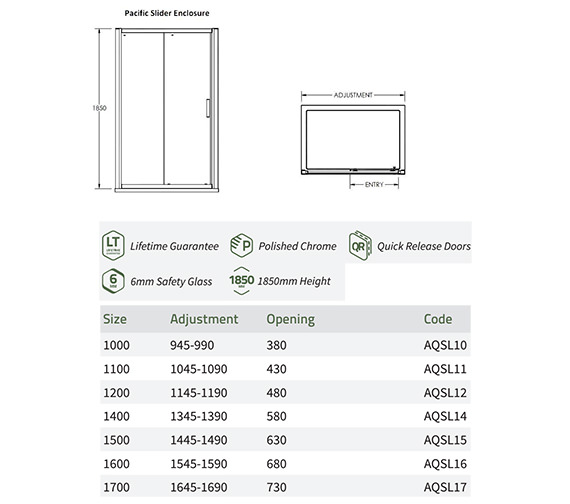 Technical drawing QS-V60228 / AQSL10