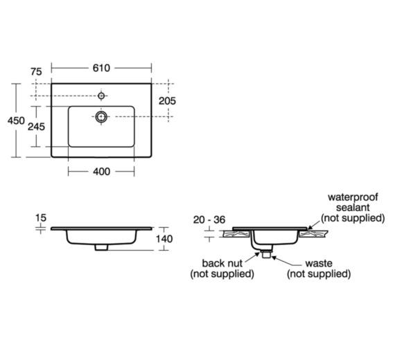 Technical drawing QS-V10460 / E066801