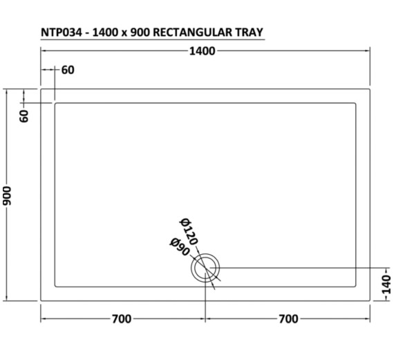 Technical drawing QS-V73366 / NTP034