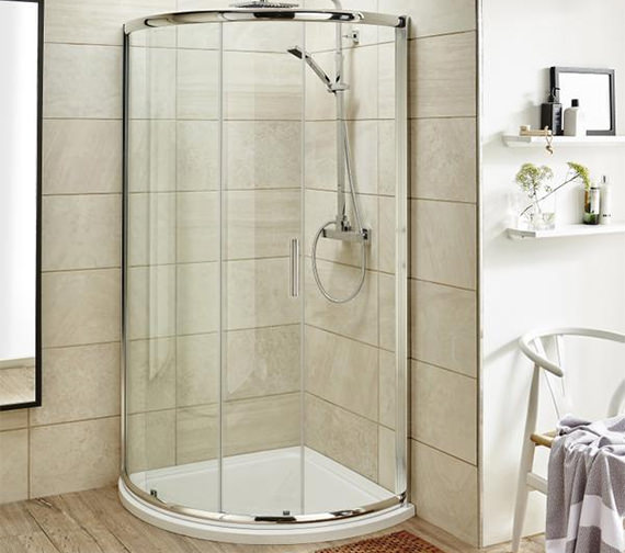 Premier Pacific Single Entry 860 x 860mm Quadrant Shower Enclosure