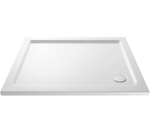 Premier Hydrastone 1100mm Rectangular Shower Tray - Corner Waste
