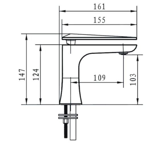 Technical drawing QS-V14292 / EBY BAS C