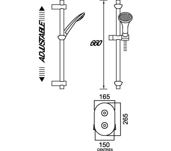Technical drawing QS-V6873 / AR3 SHCMT C
