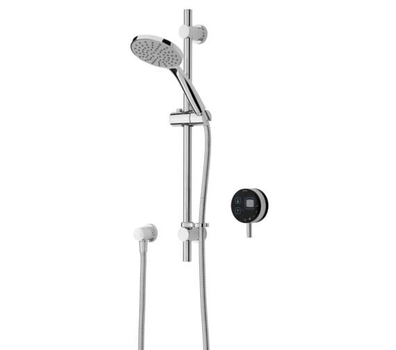 Bristan Artisan Digital Electric Mixer Shower With Adjustable Riser Black