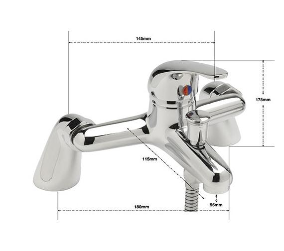 Technical drawing QS-V77768 / PE/105/C