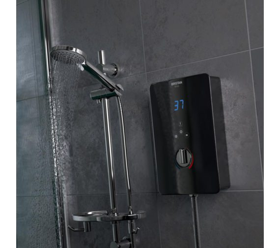 Bristan Bliss 10.5kW Electric Shower Black