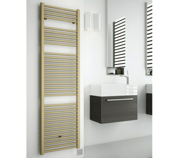 DQ Heating Nemo Electric Towel Rail 300 x 800mm