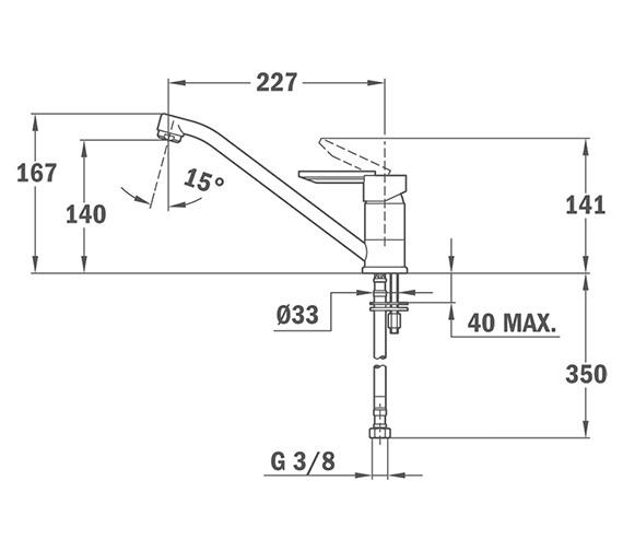 Technical drawing QS-V84223 / BTK102