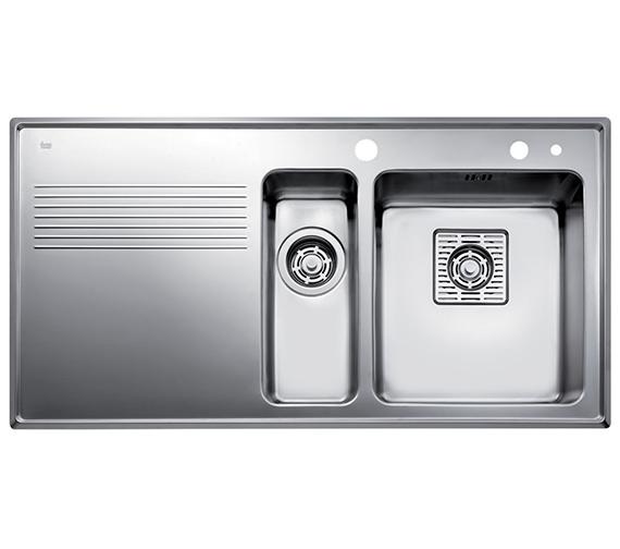 Teka Frame 1.5B 1D Stainless Steel Left Hand Drainer Inset Sink