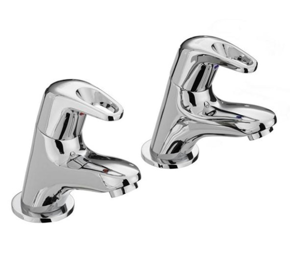 Bristan Cadet Pair Of Basin Taps