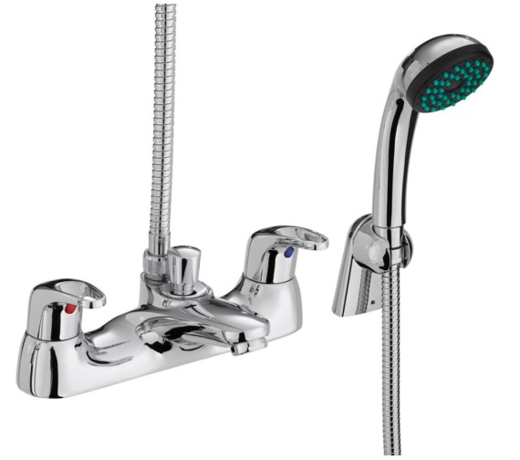 Bristan Cadet Deck Mounted Bath Shower Mixer Tap