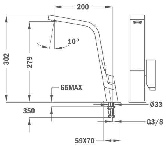 Technical drawing QS-V86140 / BTK142