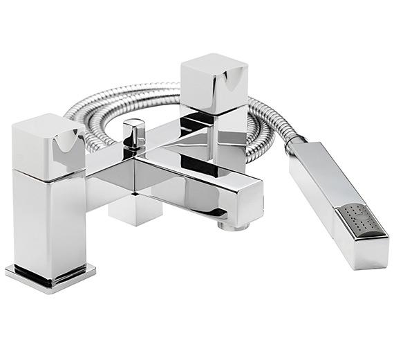 Sagittarius Matisse Deck Mounted Bath Shower Mixer Tap With No.1 Kit
