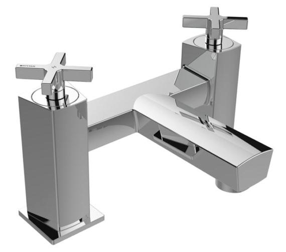 Bristan Cascade Deck Mounted Bath Filler Tap