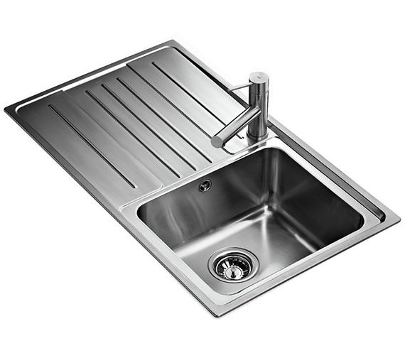 Teka Stage 45 B Stainless Steel 1 0 Bowl Left Hand Drainer