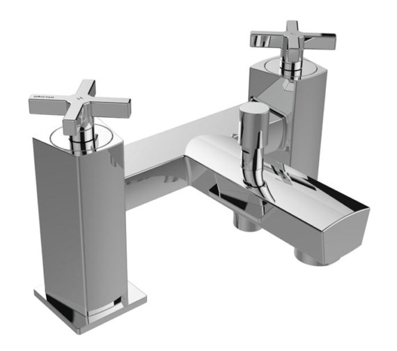 Bristan Cascade Deck Mounted Bath Shower Mixer Tap
