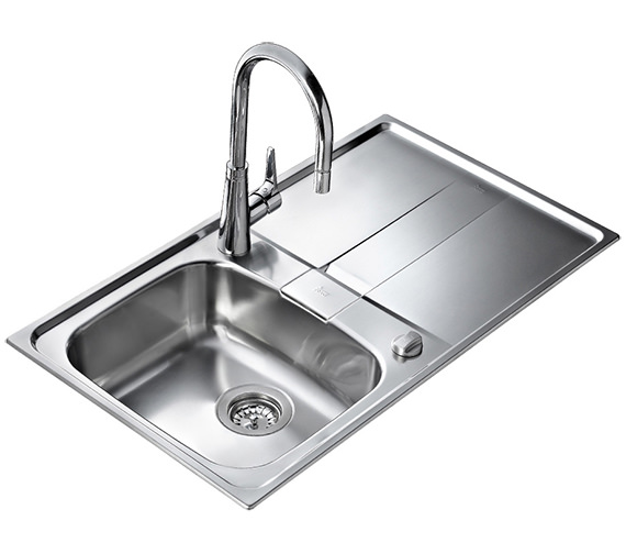 Additional image of Teka Stena 45 1B 1D Stainless Steel Inset Sink