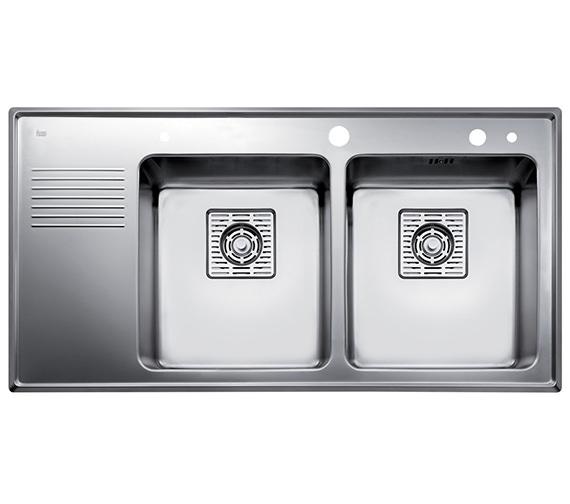 Teka Frame 2B 0.5D Stainless Steel Left Hand Drainer Inset Sink
