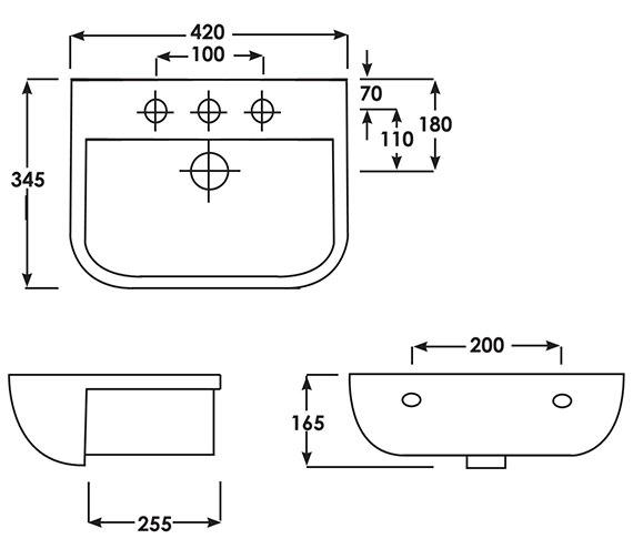 Technical drawing QS-V36224 / S60042SR1